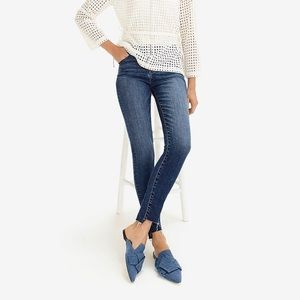 "J. Crew 9"" High-Rise Toothpick in Step Hem, Sz 27"